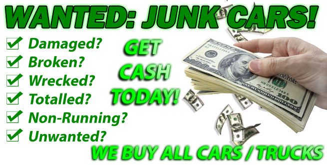 Make Top Dollars With Your Junk Cars